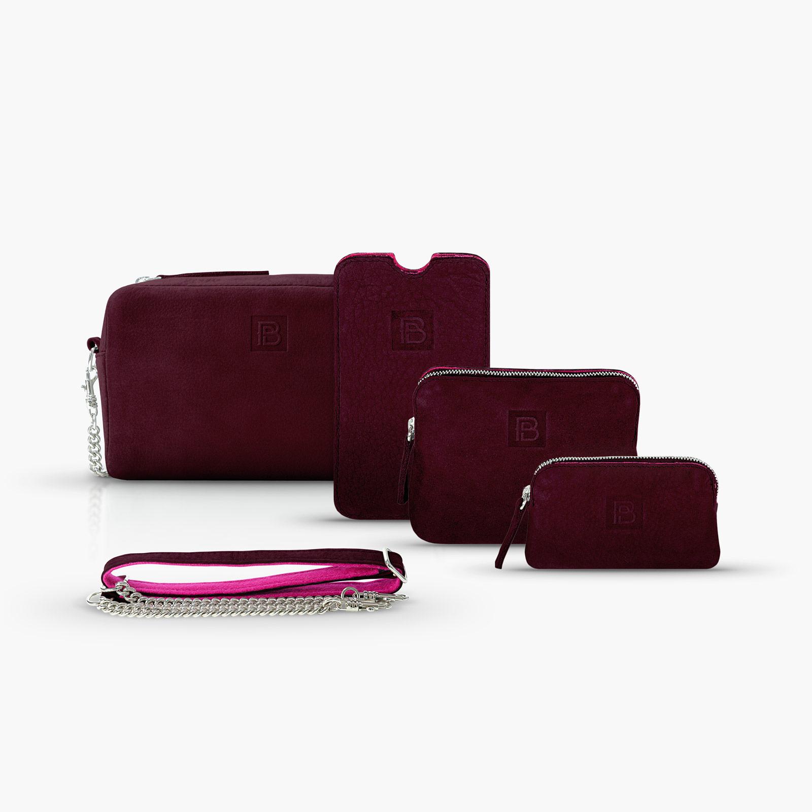 BeltPocket Set - Bordeaux