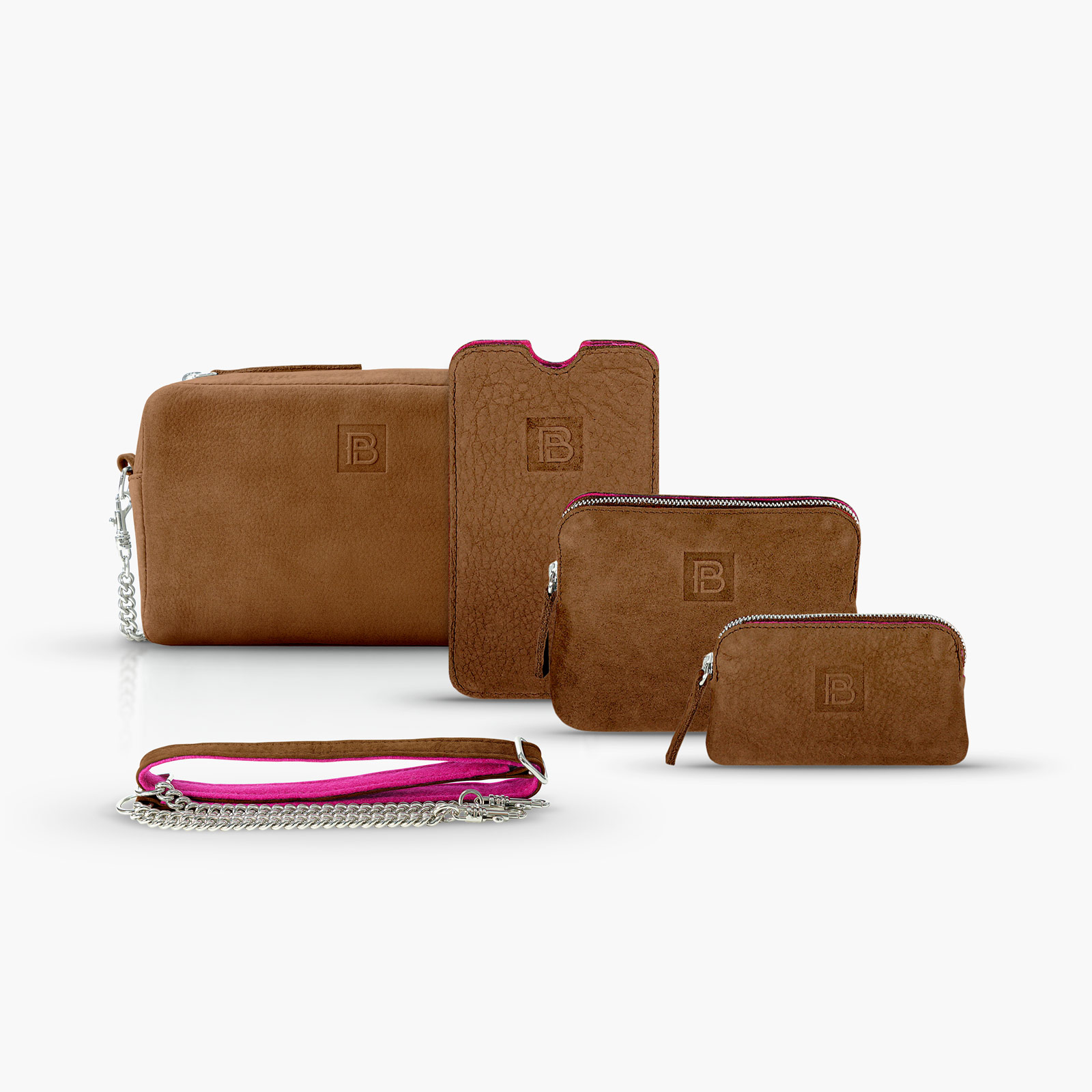 BeltPocket Set - Cognac
