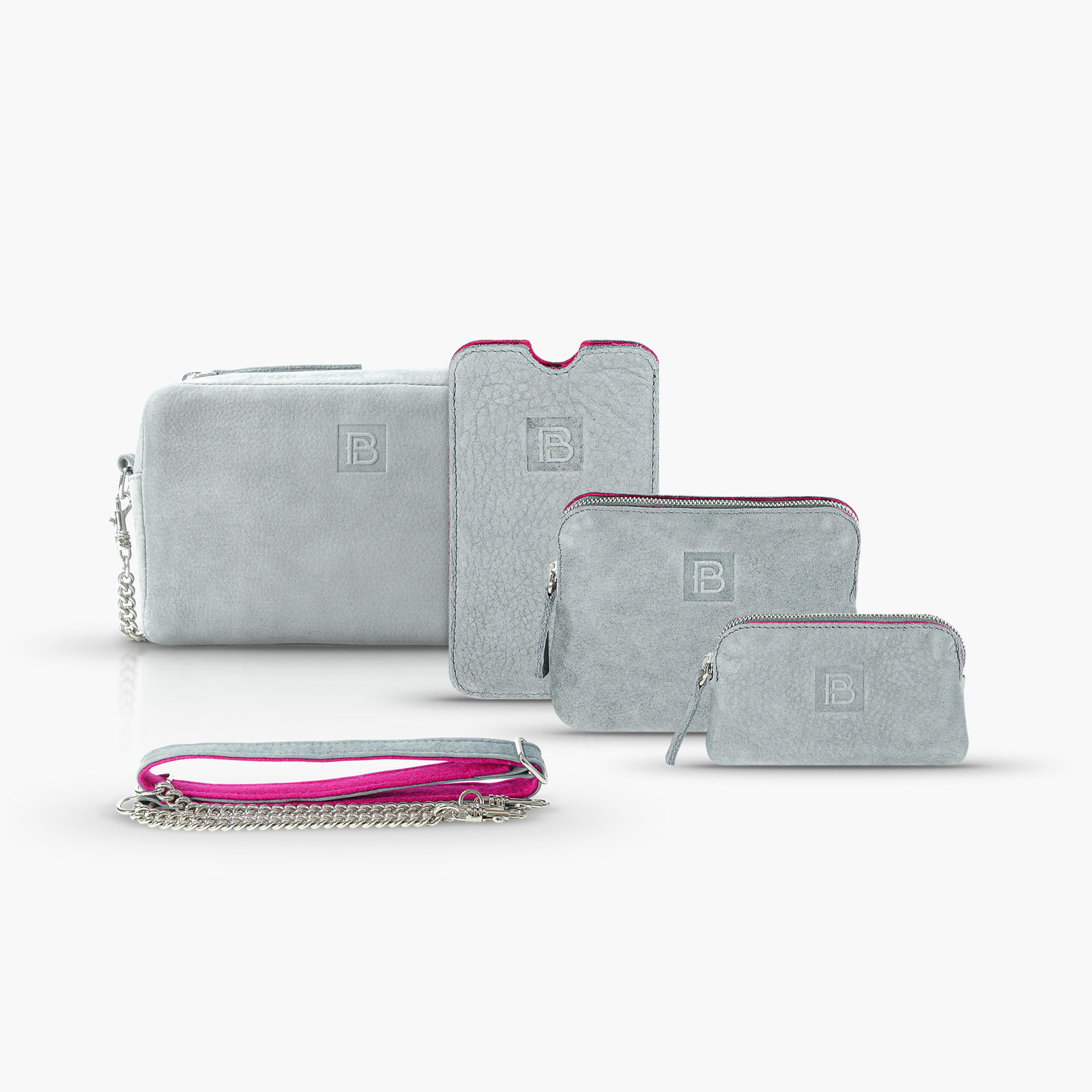 BeltPocket Set - Grau